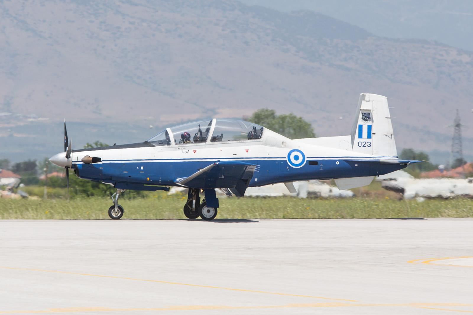 """T-6 Texan II des Team """"Daedalus"""""""