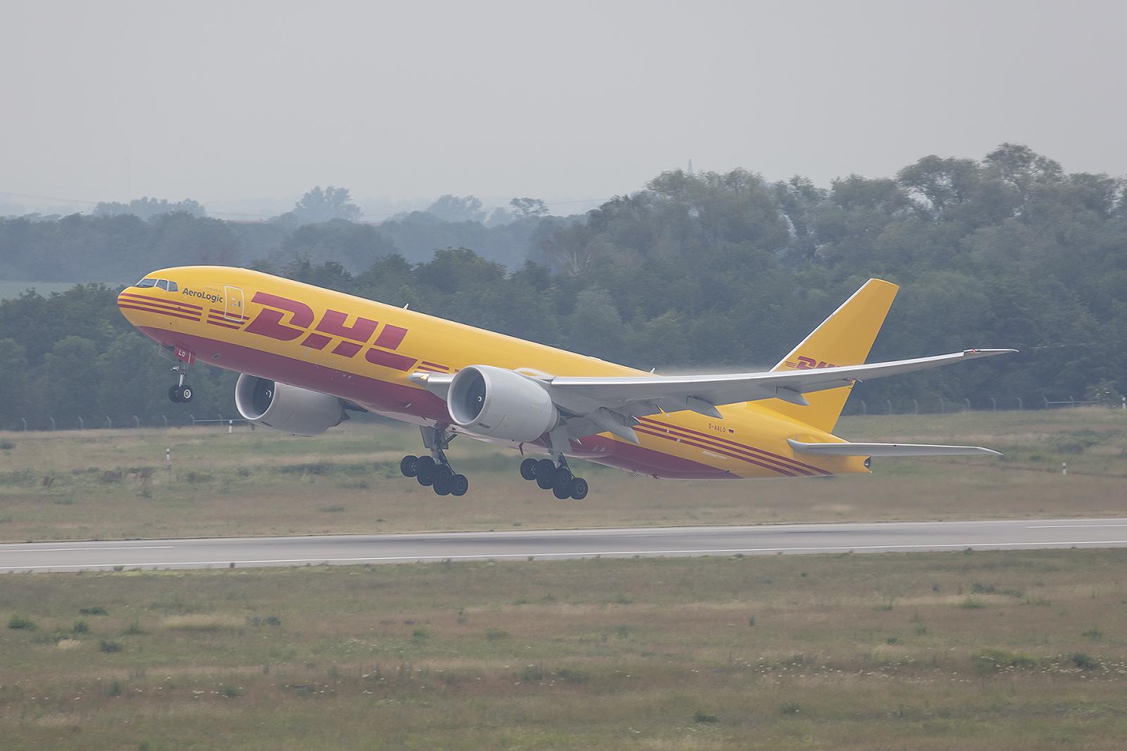Bei unserem Besuch war diese Boeing 777 die neueste in der Flotte von Aerologic.
