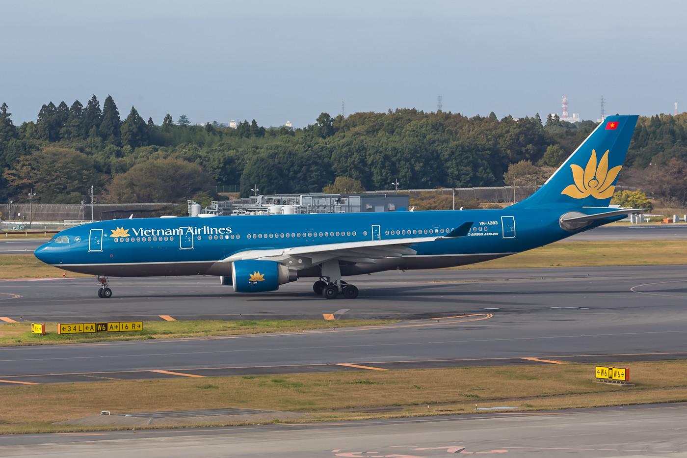 A 330 der Vietnam Airlines.