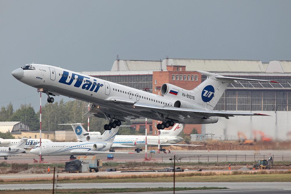 Damals flog UTAir noch einige TU-154.