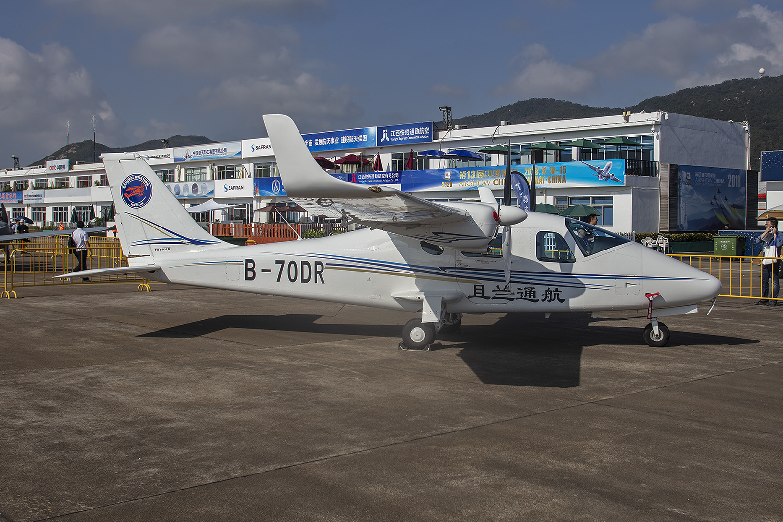 Tecnam P2006GT aus Italien.