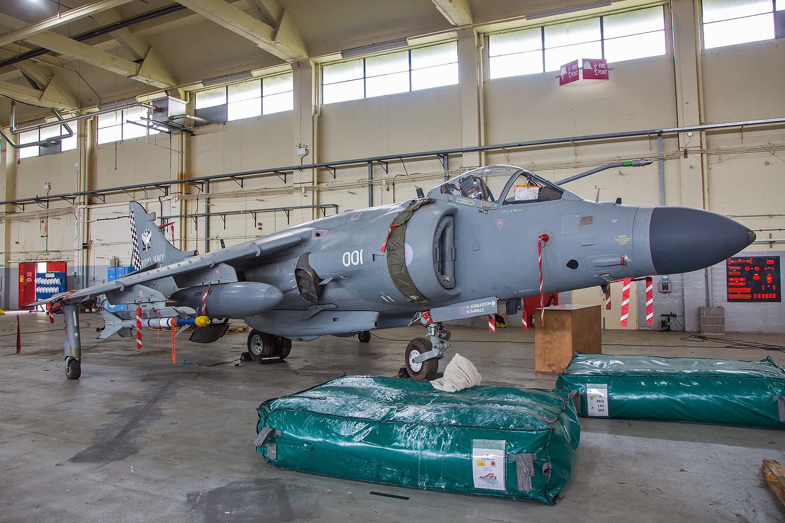 ZH796 BAE Sea Harrier FA.2