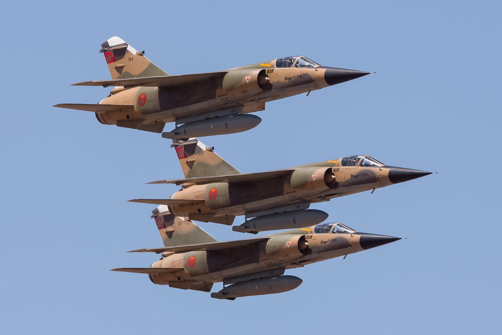 Mein Highlight waren die Mirage F-1CM der EC 5 aus Sidi-Slimane