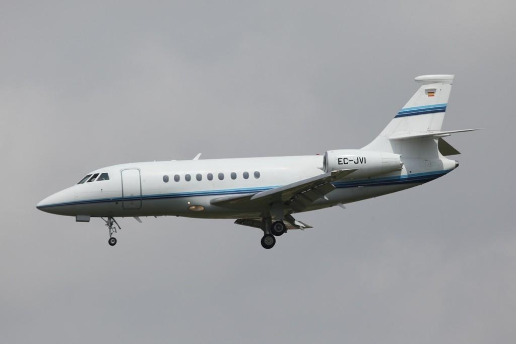 Eine private Falcon 2000
