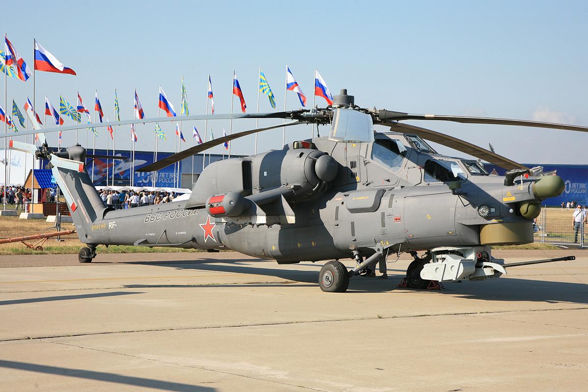 Der aktuelle Kampfhubschrauber aus dem Hause MIL, die MI-28.
