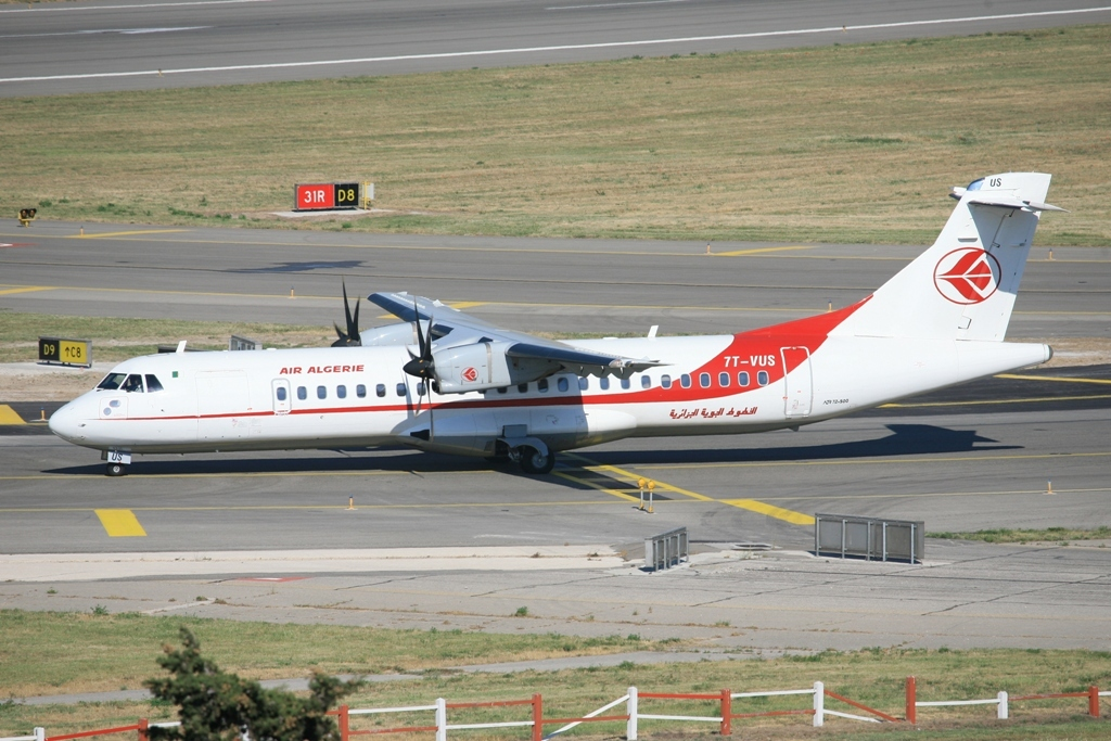 ATR-72 der Air Algerie.