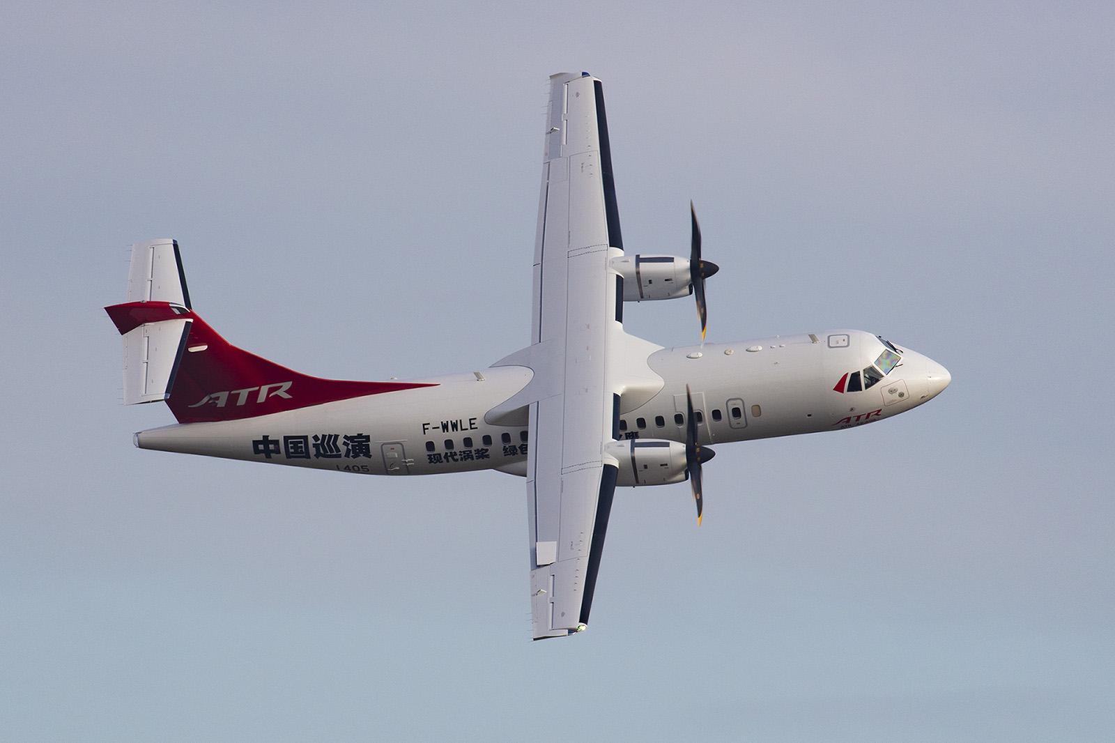 Beeindruckende Vorführung der ATR-42.