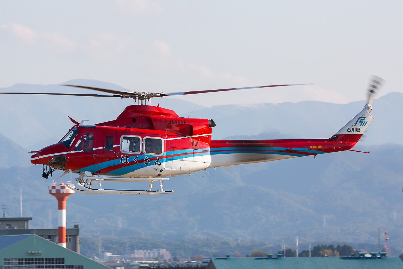 Bell 412 der Ishikawa Prefecture Air Rescue