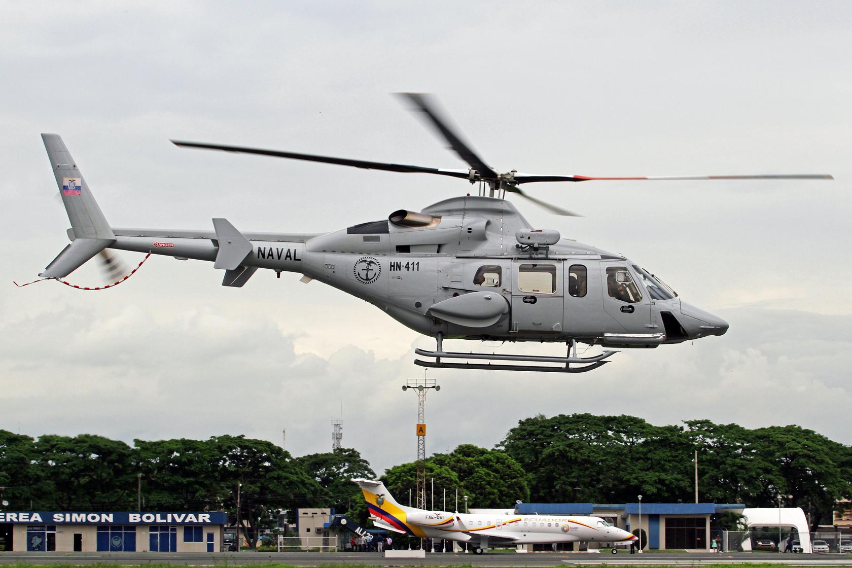 Armada del Ecuador Bell 430 HN-411