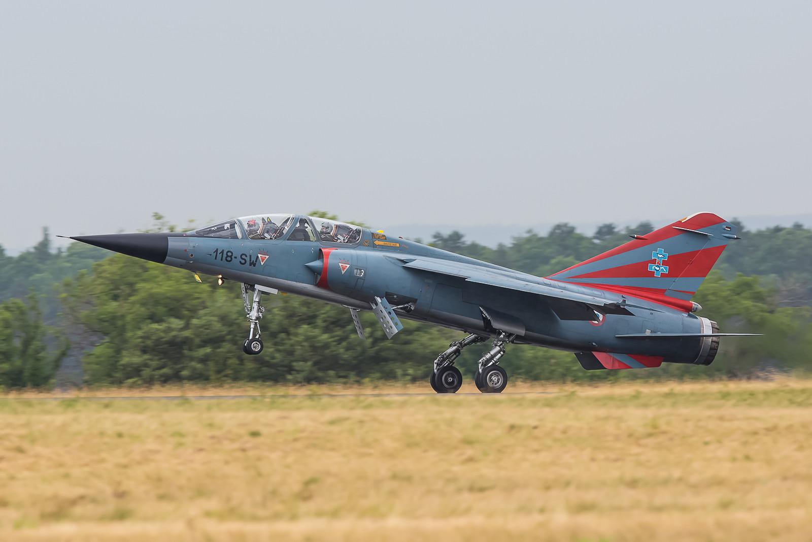 Jedoch waren die drei anwesenden Mirage F-1 sicher das Highlight für die meisten Spotter.