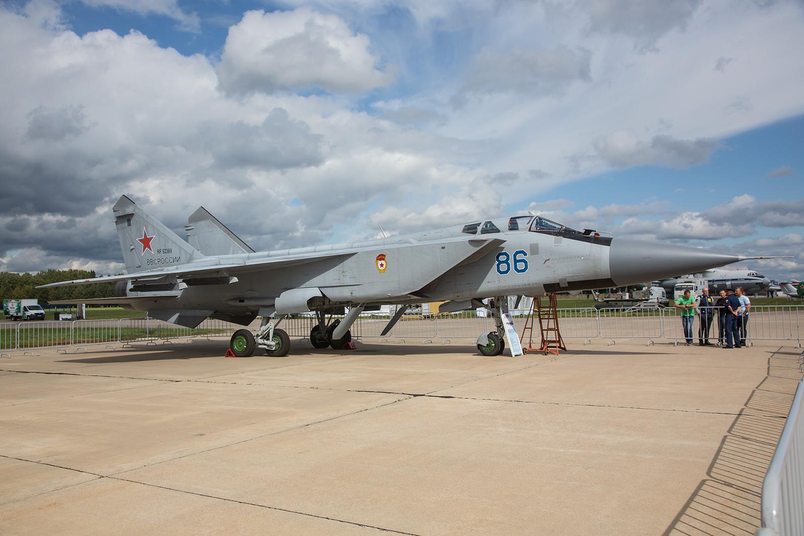 Abfangjäger Mikoyan/ Gurewitsch MiG-31