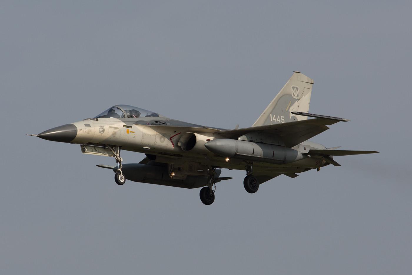 F-CK-1A der 3rd TFW in der Nachmittagsrunde.