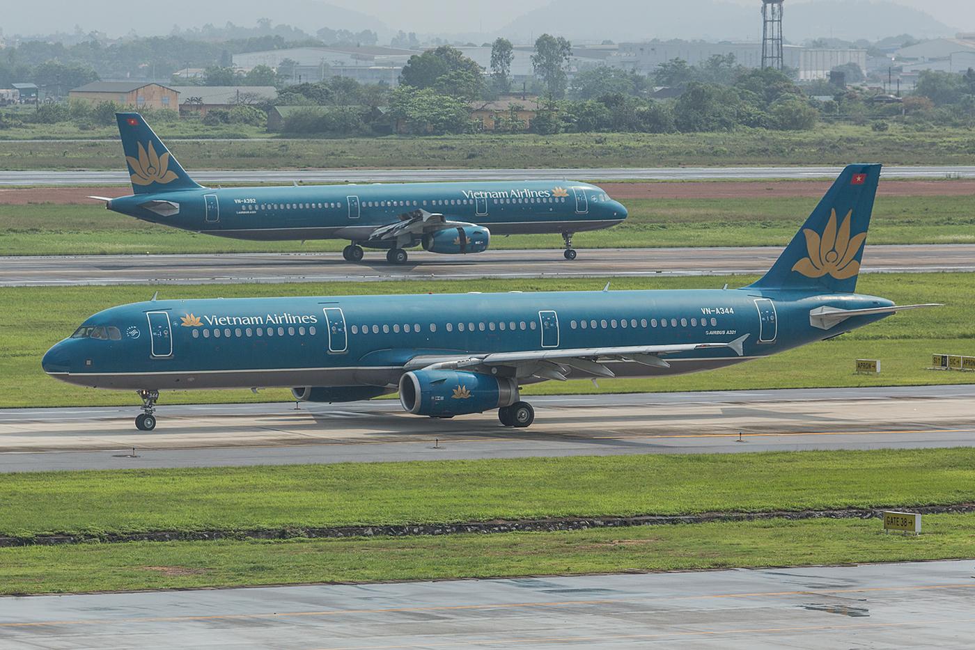 Nochmal zwei A321 der Vietnam Airlines.