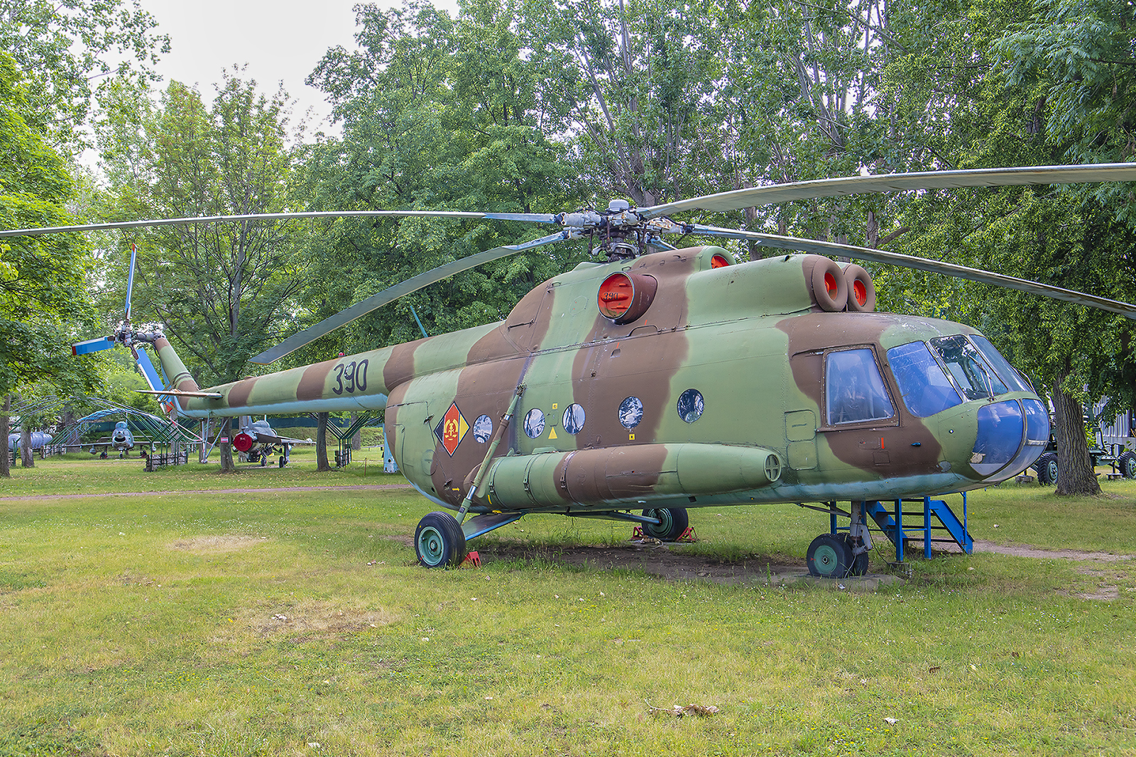 Mersenurg - Mil Mi-8T der ehemaligen NVA.