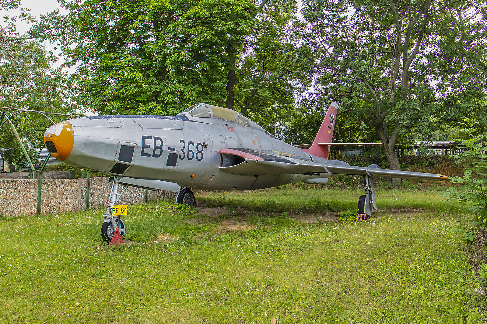 Merseburg - Republic RF-84 Thunderflash der Luftwaffe.