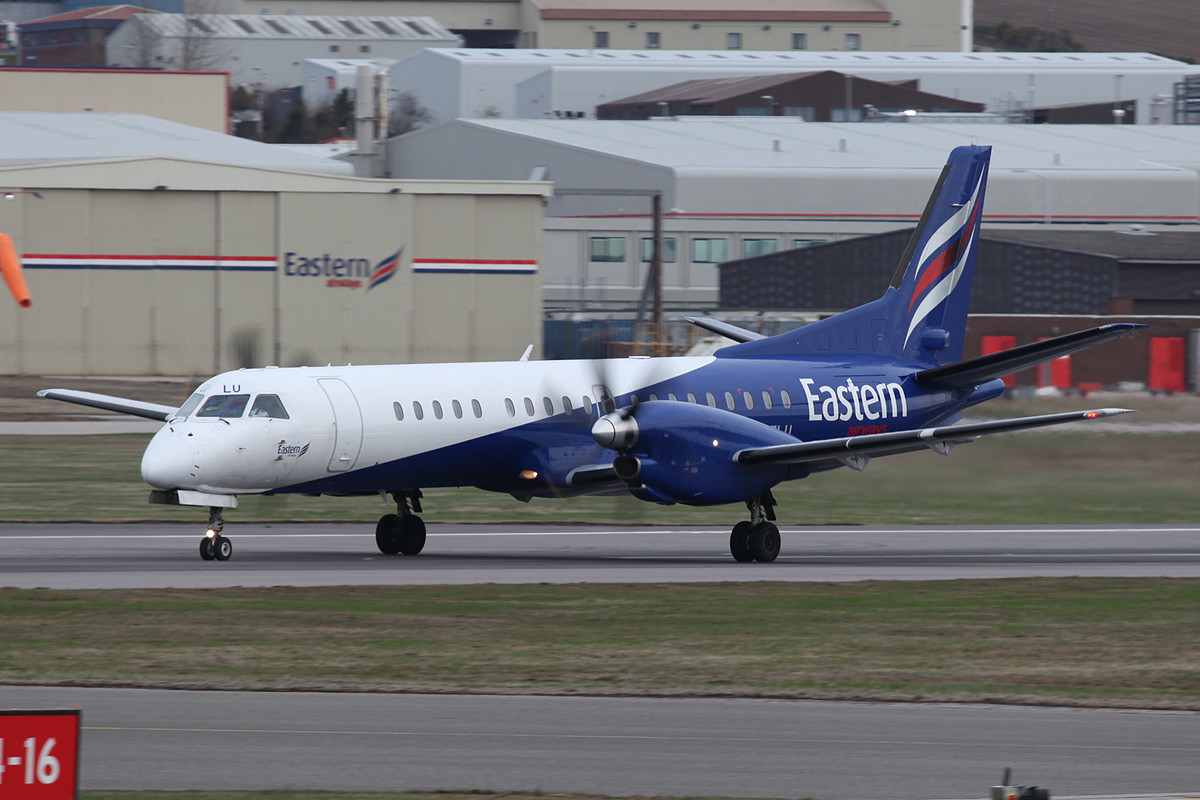 Saab 2000 von Eastern Airways.