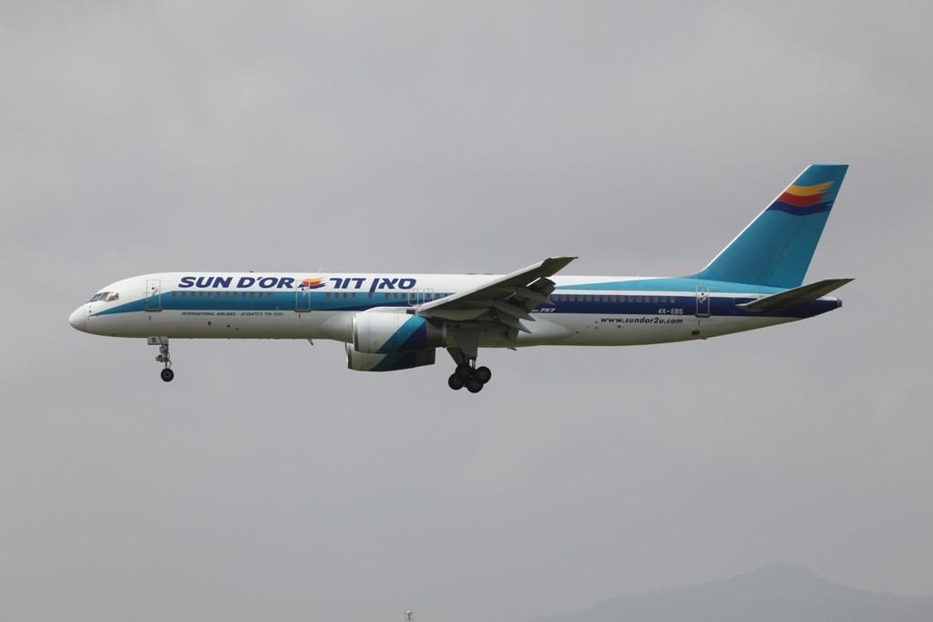 Sun d´Or in den alten Farben der El Al