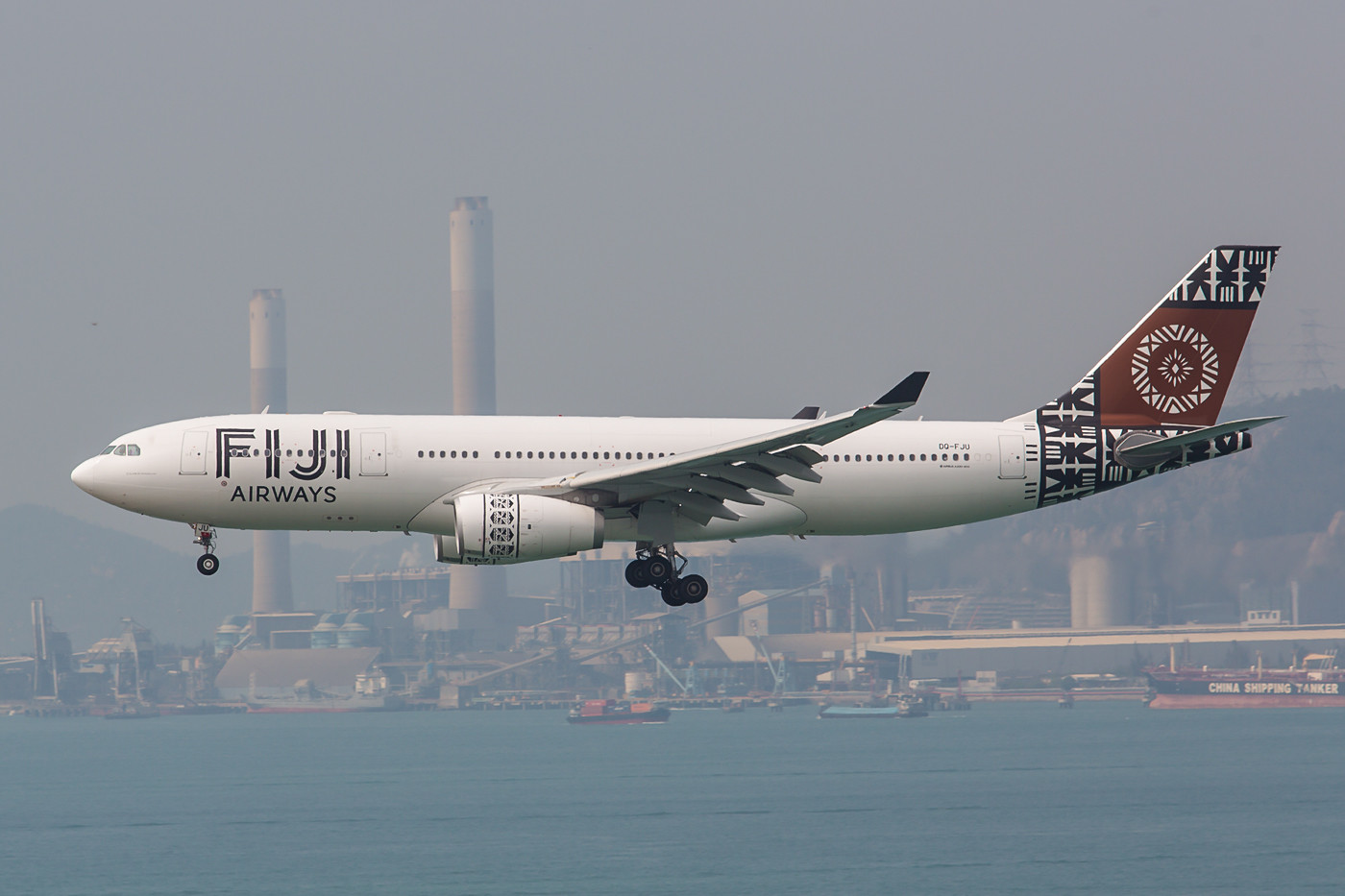 Ein echter Glückstreffer war diese A33 der Fiji Airways.