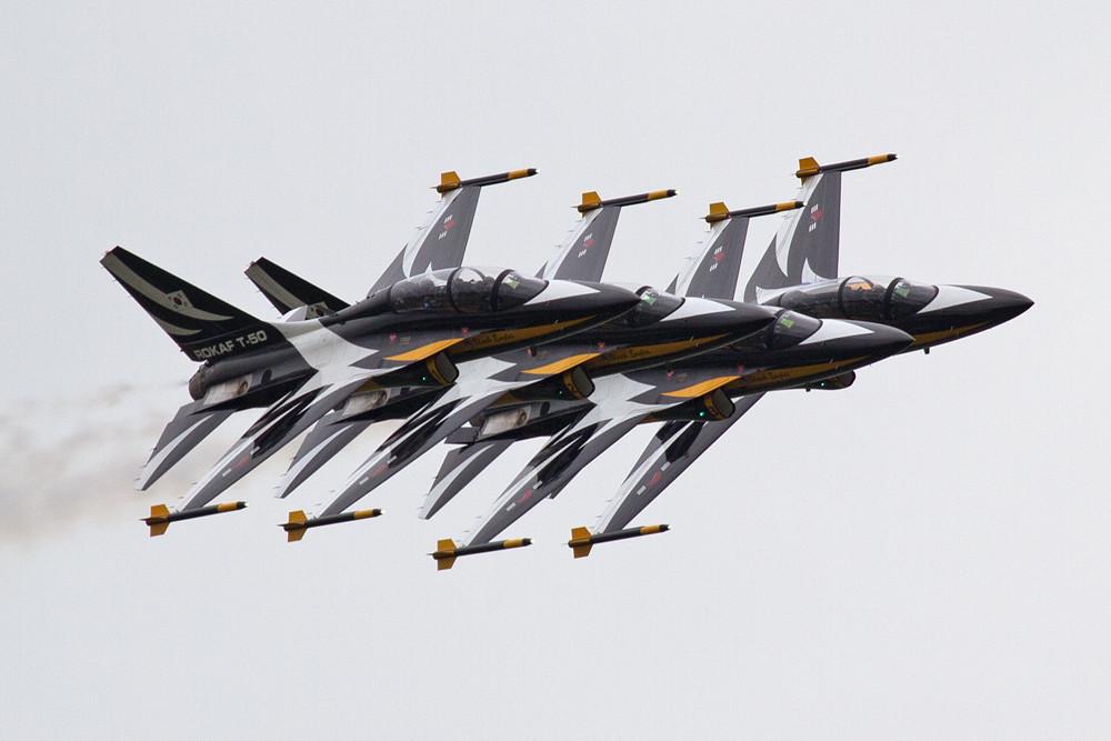 "T-50 der ""Golden Eagles"" aus Südkorea."