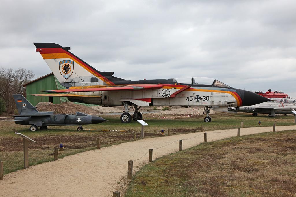 Die Abschiedslackierung des MFG 2 in Eggebeck ist heute ebenfalls in Nordholz zu sehen.