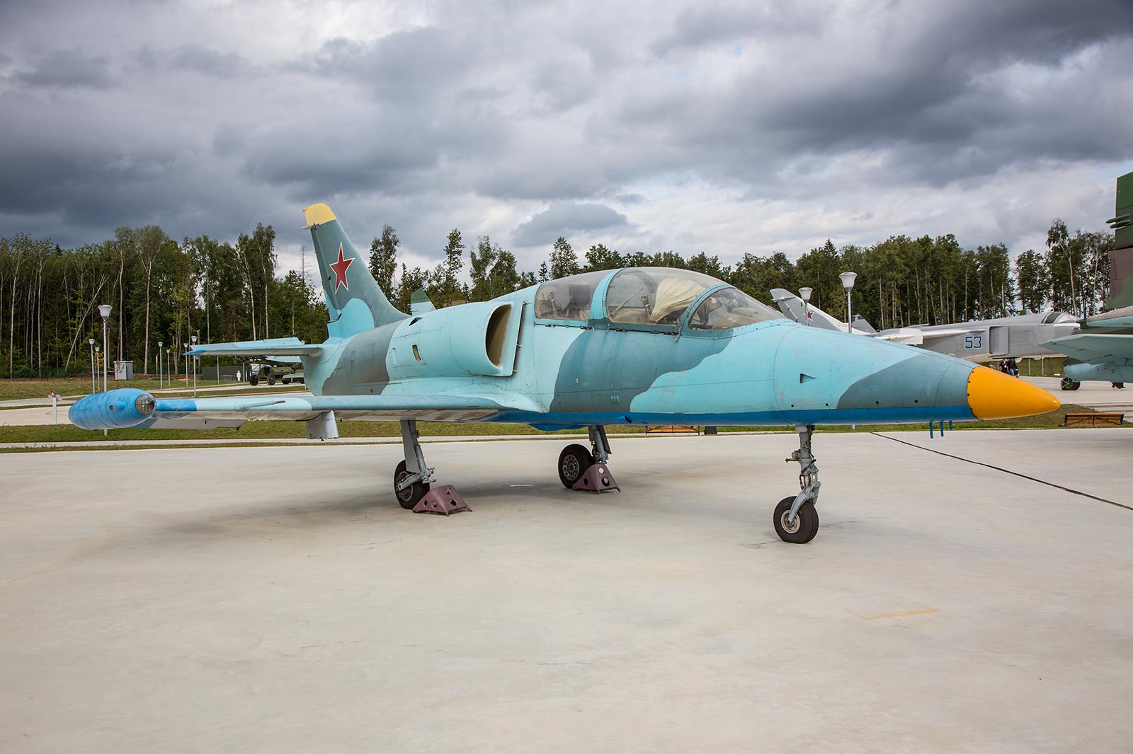 Auch die russischen Streitkräfte nutzen die Aero L-39 Delfin für die Flugausbildung.