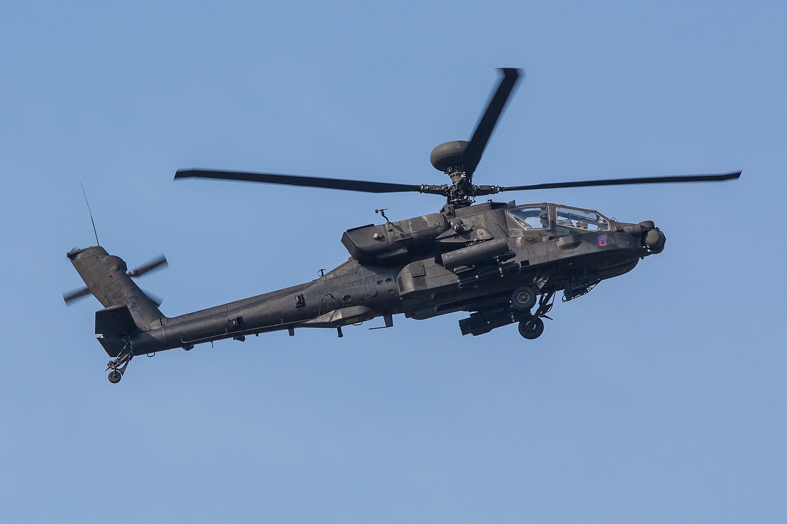 McDonnel Douglas AH-64D Longbow II aus Illesheim