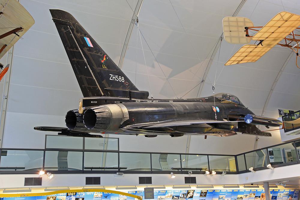 ZH588, der britische Prototyp des EF 2000 Typhoon.