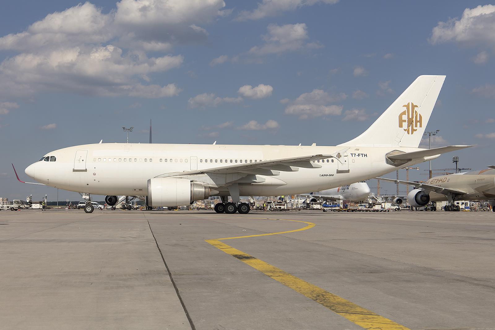 Ein seltener Vogel ist dieser hier, der A310 der National Legacy.