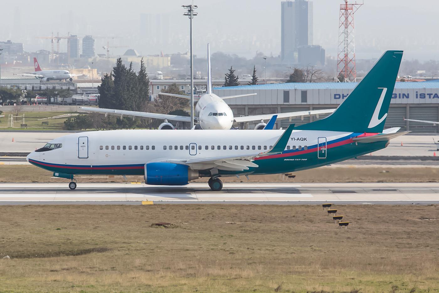Diese ehemalige Airtran Boeing 737 fliegt nun im Irak.