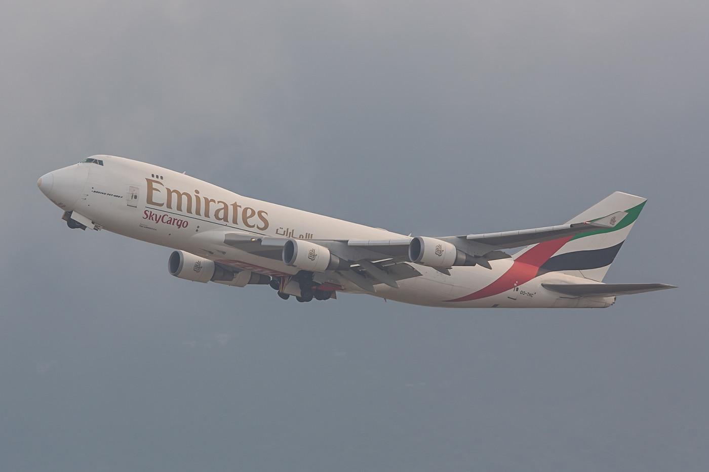 Emirates Cargo Boeing 747-400.