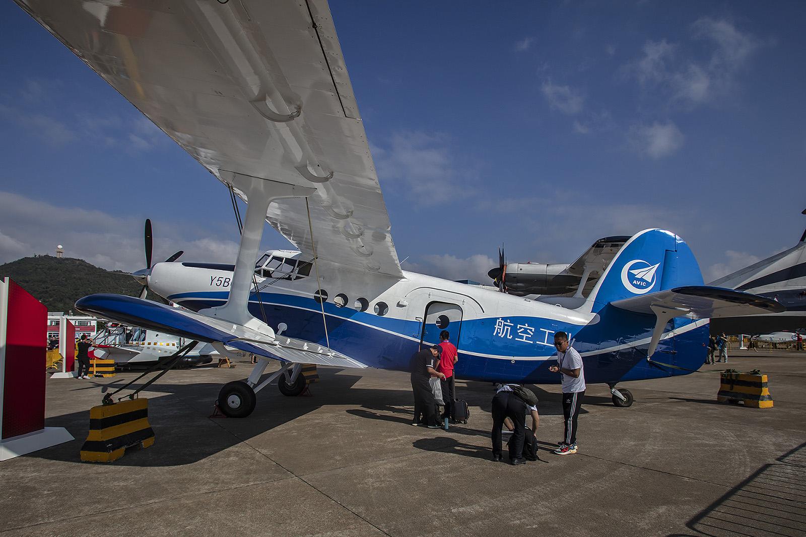Wie auch in Rußland arbeitet man in China an einer Weiterentwicklung der An-2. Hier heißt sie Y-5B.
