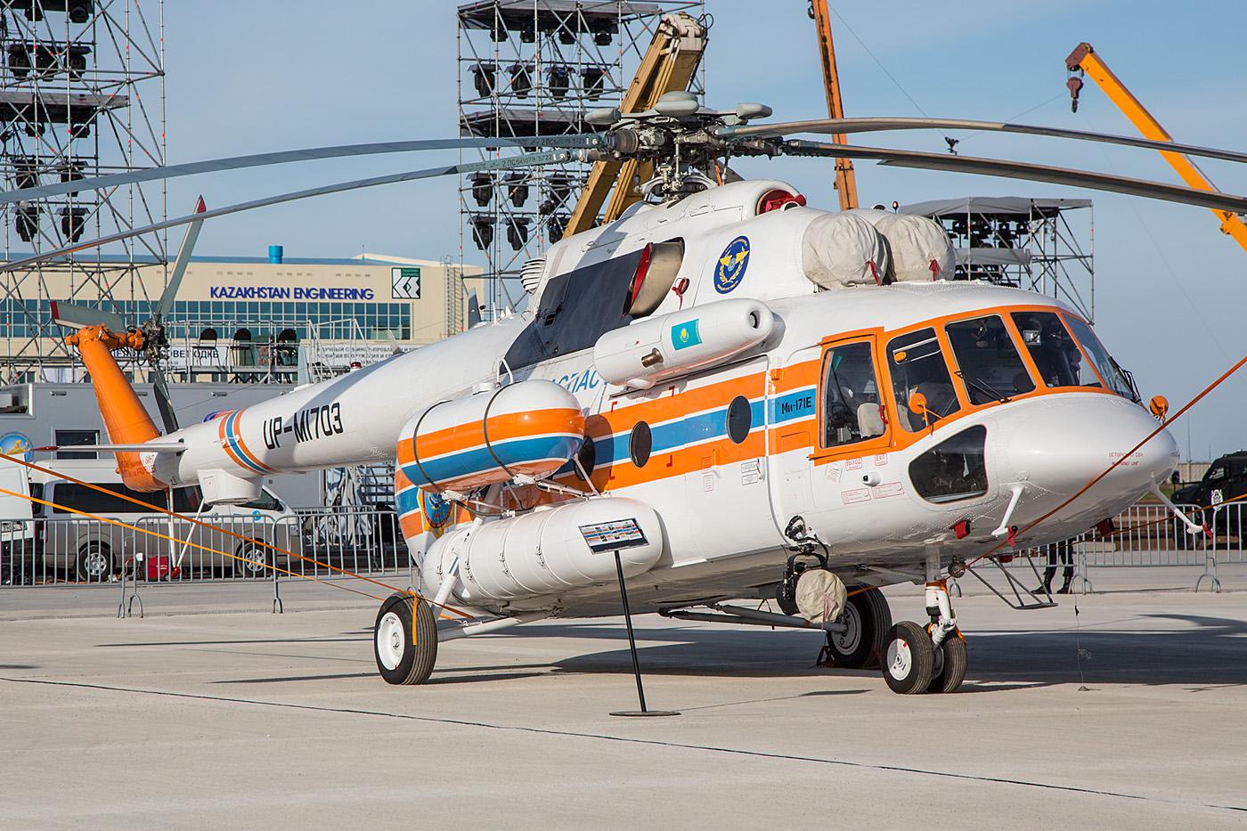 Diese Mi-171 stammt noch aus dem Werk in Ulan Ude, wie mir der Bordtechniker stolz erzählte.