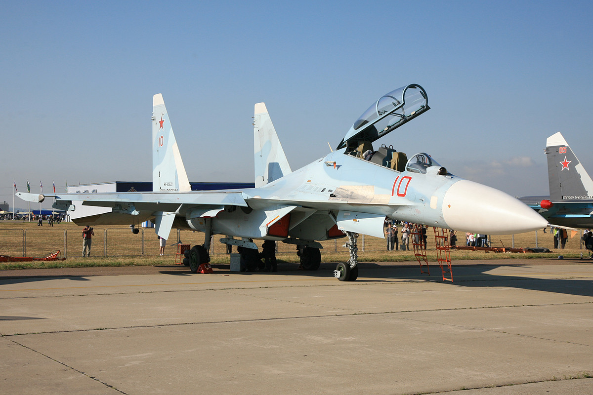 Doppelsitzer SU-27UB.