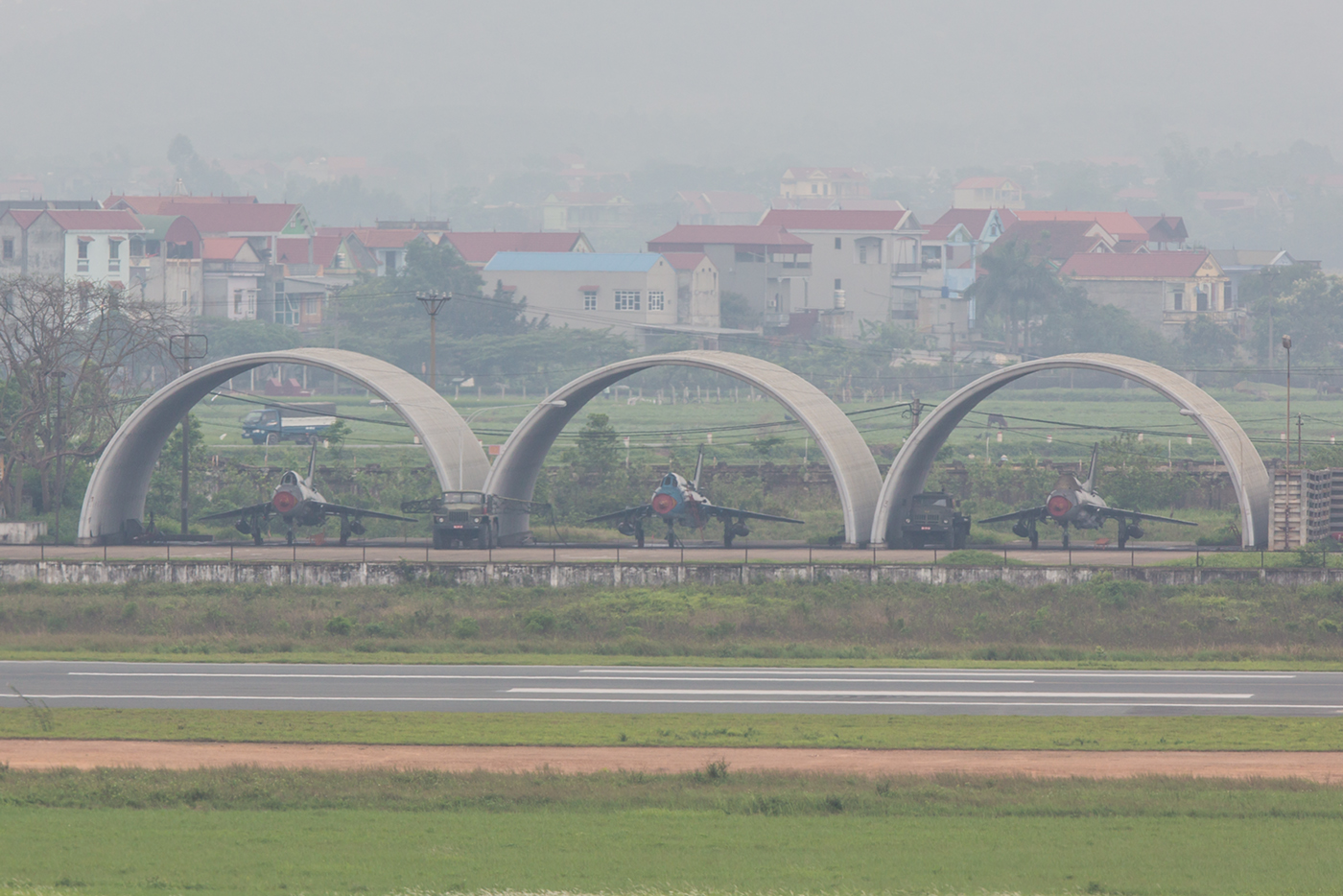 Besser waren sie Su-22 in Hanoi auf dieser Reise nicht zu bekommen.
