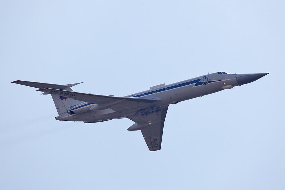Die RF-93938, eine TU-134UBK, dient der Ausbildung von Radarpersonal und WSO´s.