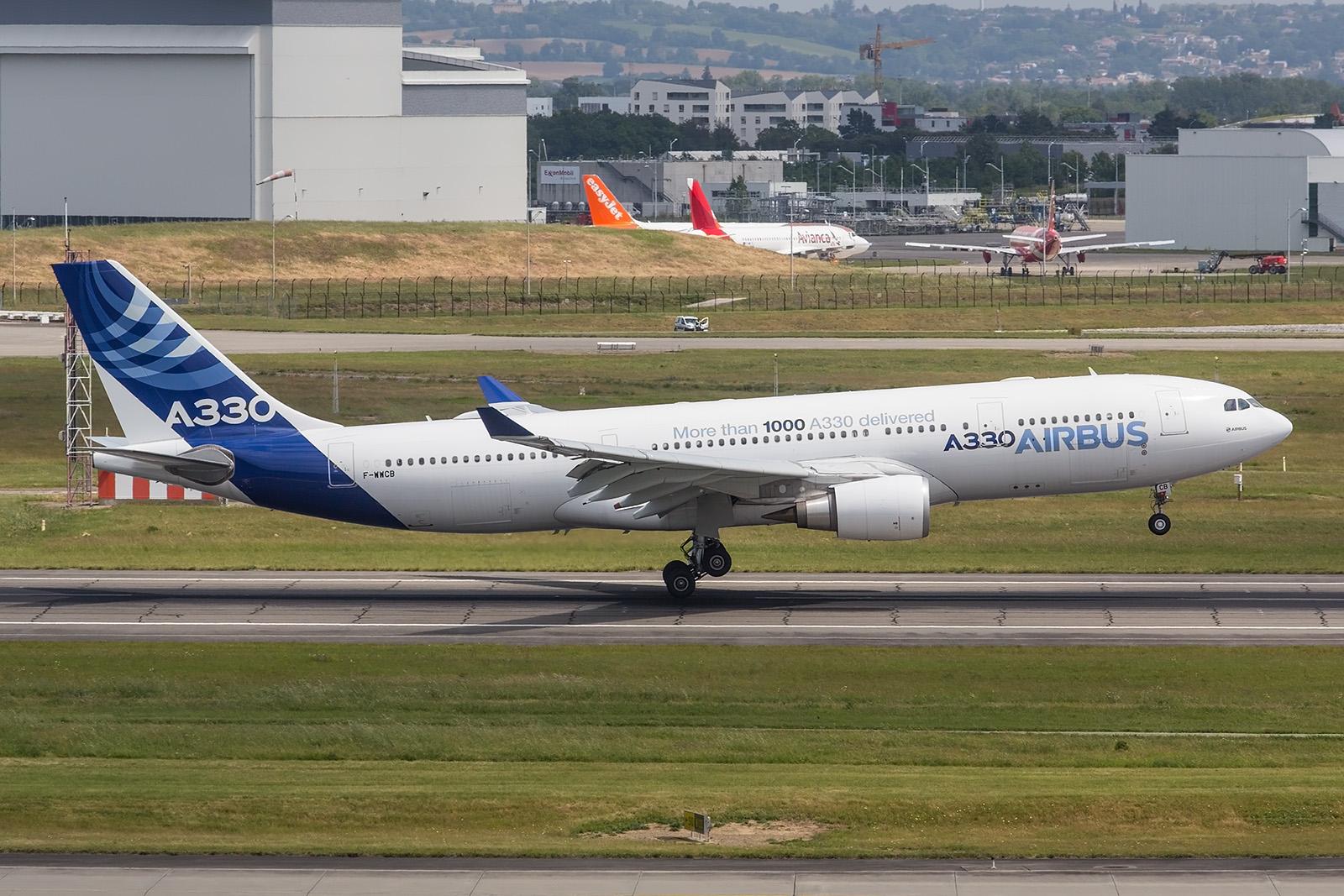 Auch an der A330 gibt´s immer noch was zum testen.
