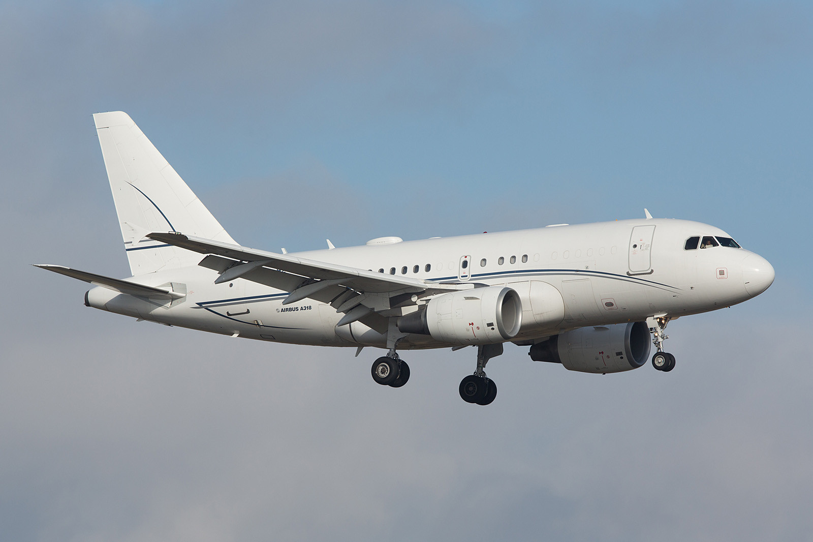 HZ-A5; Alpha Star Airbus A318-112(CJ) Elite
