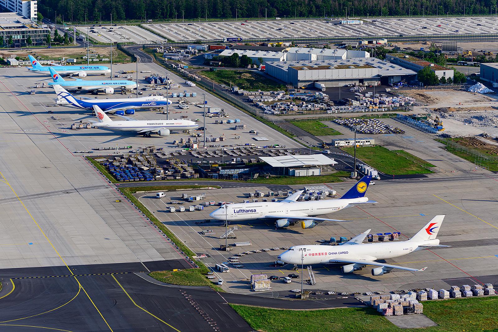Dieses Lineup wird von Boeing dominiert