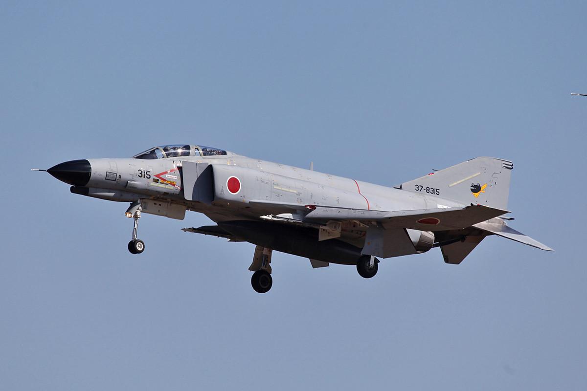 Anders als bei uns haben die Phantom in Japan noch lange nicht ausgedient.