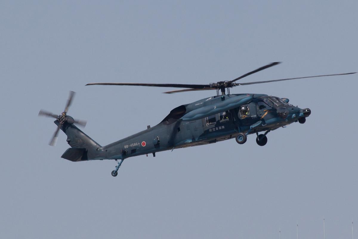UH-60 der Rescue-Einheit.