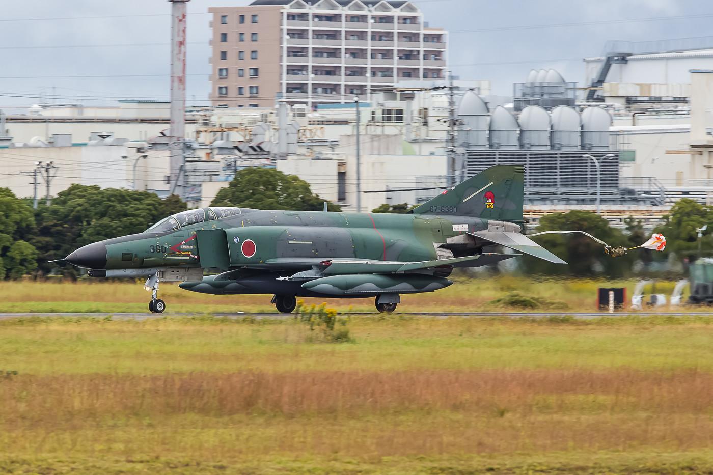 Die 67-6380 wurde im Jahr 2000 zur RF-4EJ umgebaut, bis dahin war sie eine normale F-4EJ Phantom.