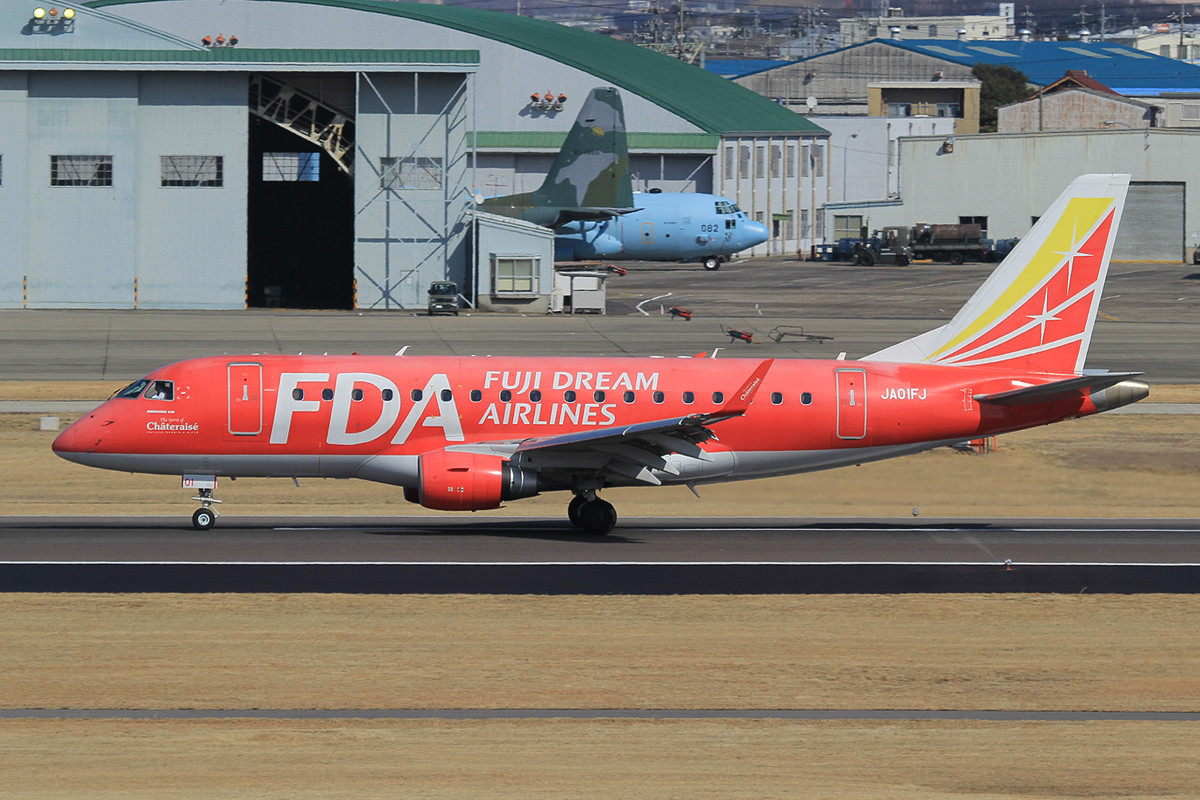 Mehr als drei Stunden flog diese Embraer der FDA ihre Runden.