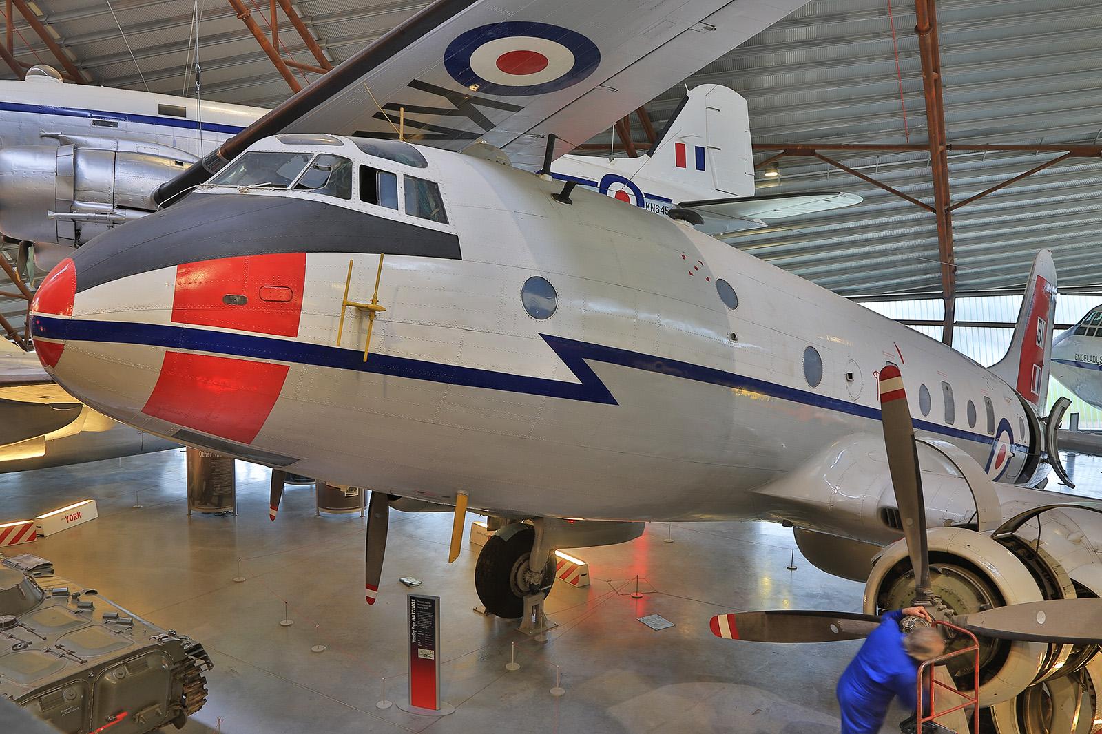 Die Handley Page Hastings war zu ihrer Zeit das größte speziell für die RAF entwickelte Transportflugzeug.