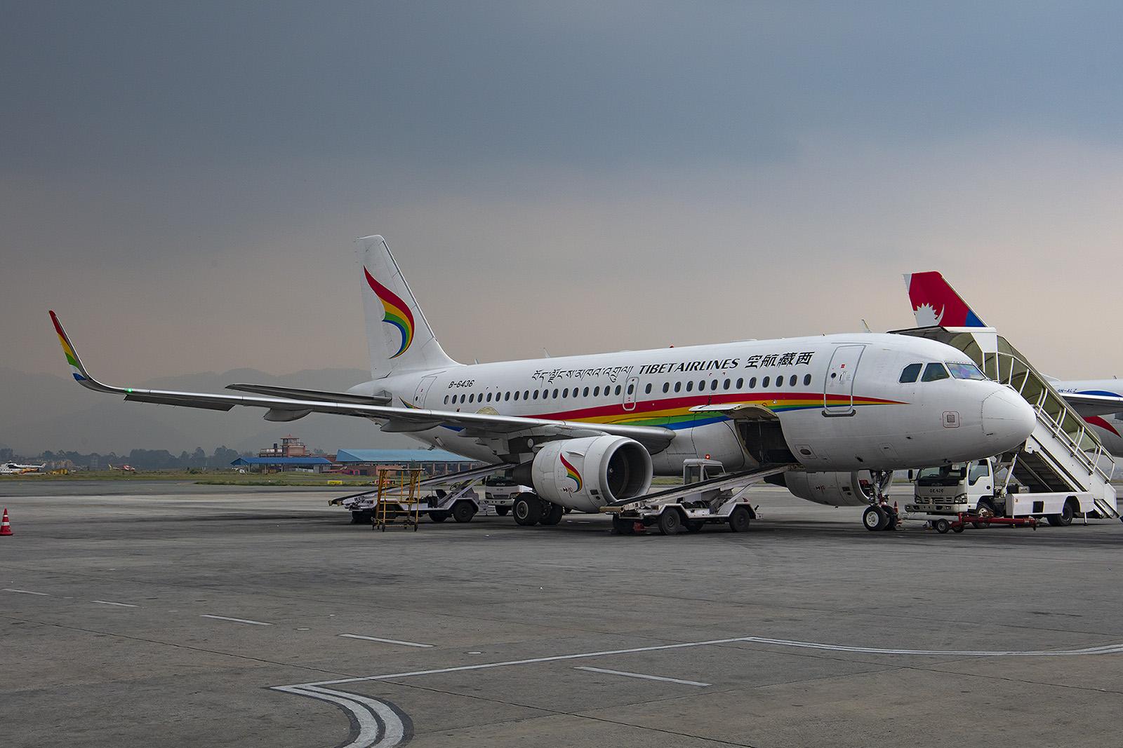 Tibet Air aus der VR China.