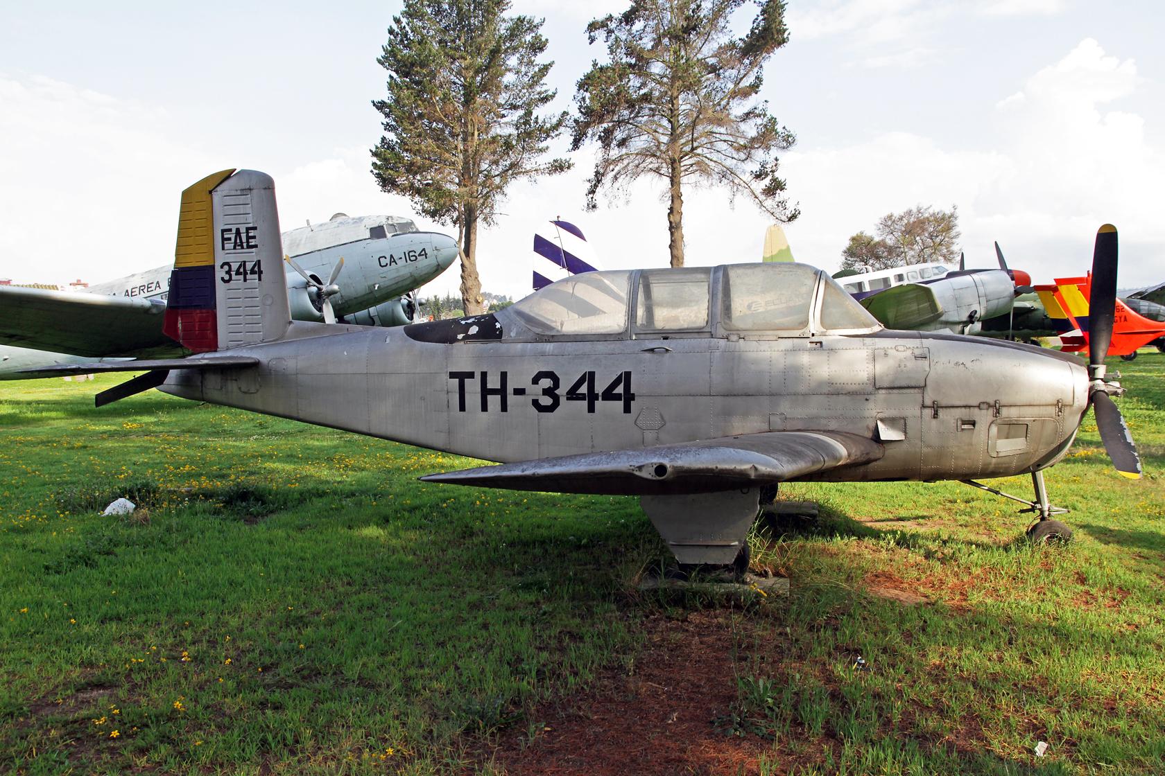 Fuerza Aérea Ecuatoriana Beechcraft T-34A Mentor FAE-344