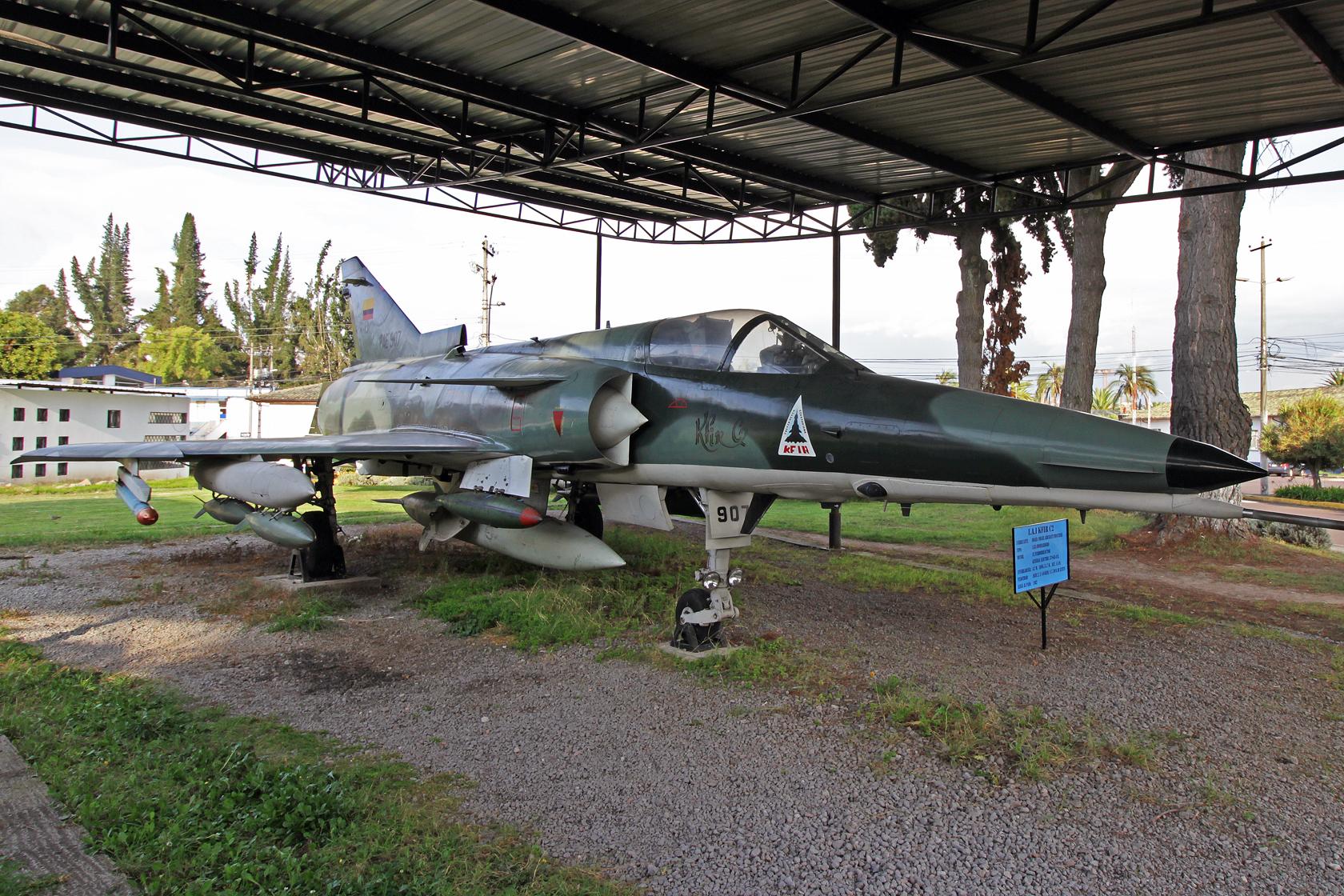 Fuerza Aérea Ecuatoriana IAI Kfir C2 FAE-907