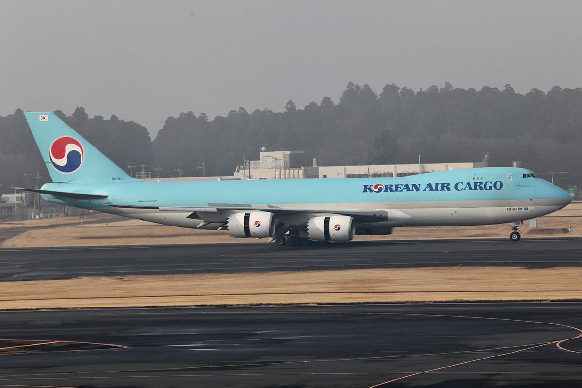 Noch eine Boeing 747-8F, diesmal Korean Air.