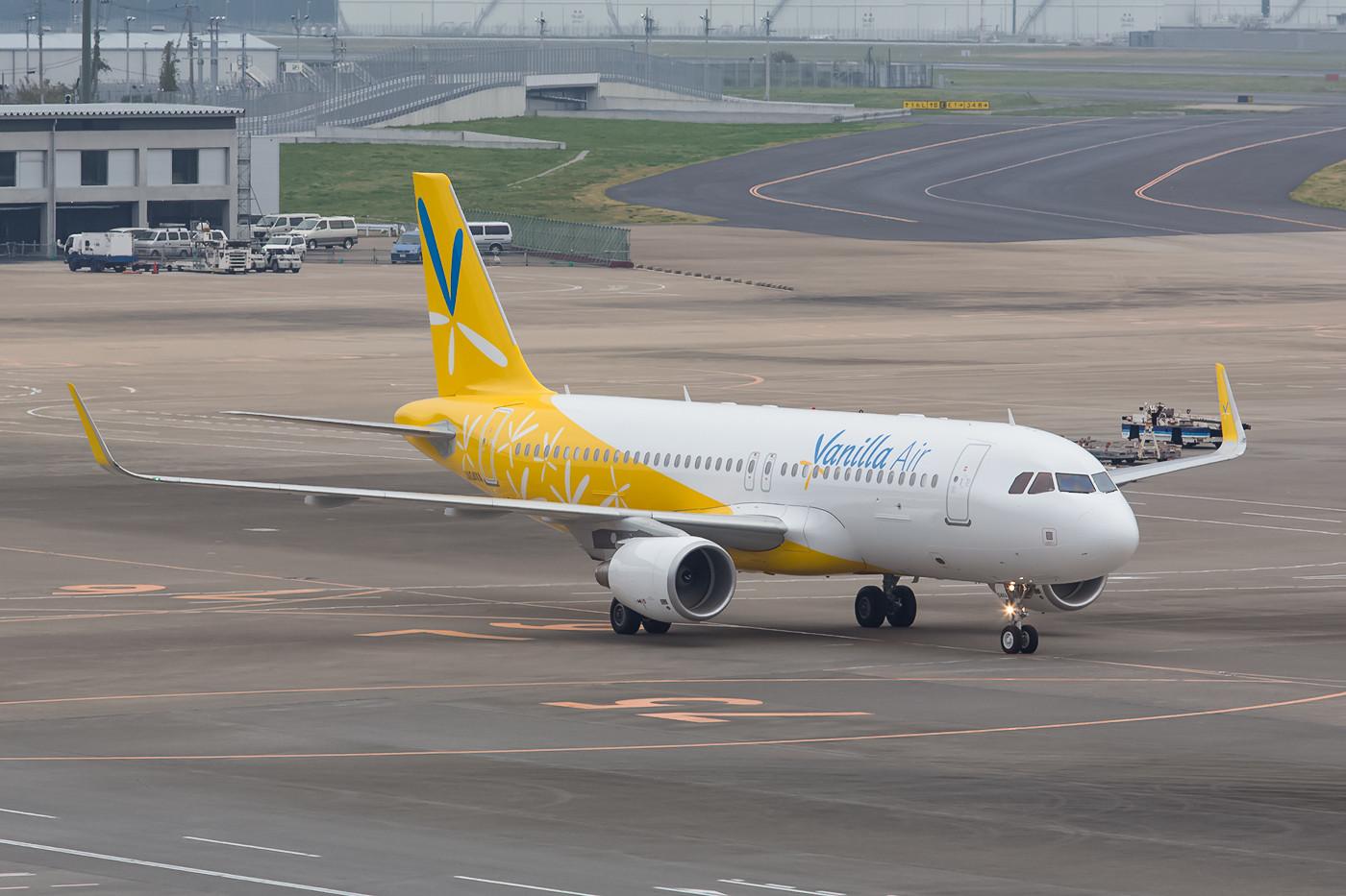 Aus dem gescheiterten Experiment Air Aisia Japan ging die Vanilla Air hervor.