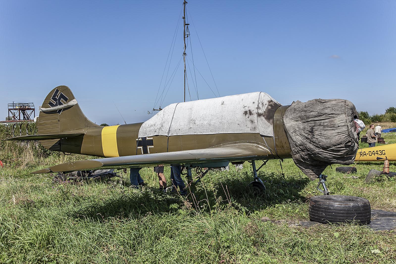 Ich glaube nicht, dass die Wehrmacht diesen Flugzeugtyp in ihrem Bestand hatte.