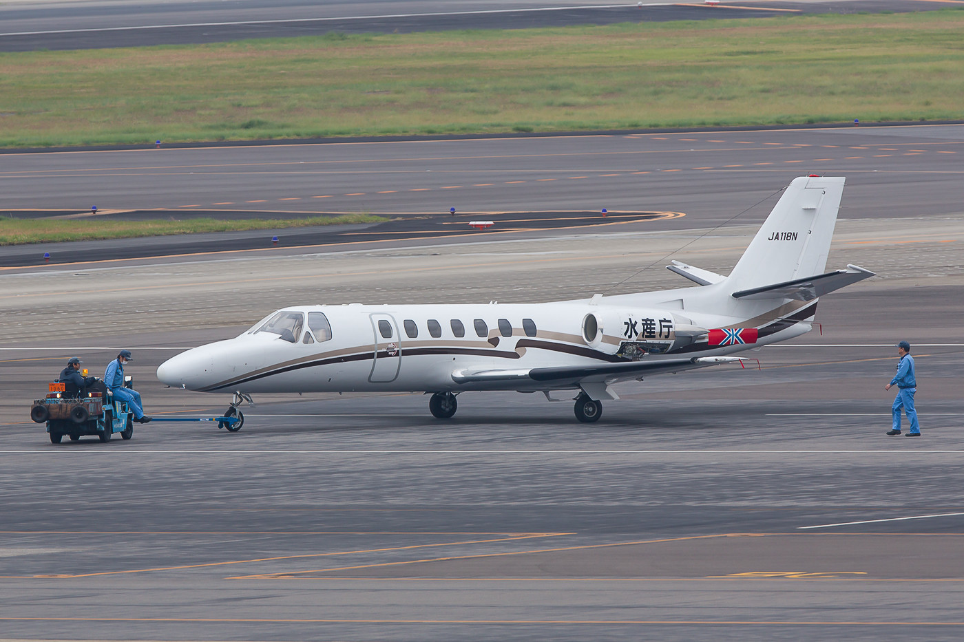 Cessna 560 Citation V des Nakanihon Air Service.